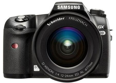 La Samsung Reflex GX20 alla conquista del mercato