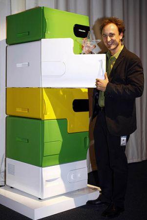 Con il Flatshare Fridge di Electrolux il frigorifero è modulare
