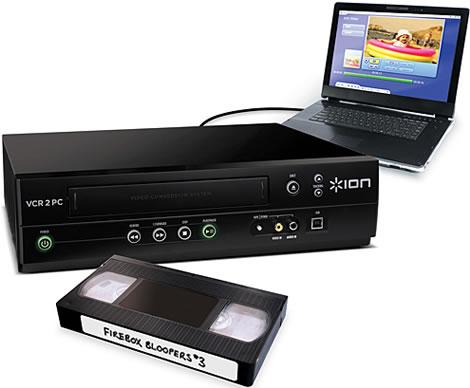 Con USB VHS Converter le videocassette diventano digitali
