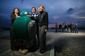 DustCart, il robot spazzino che raccoglie i nostri rifiuti