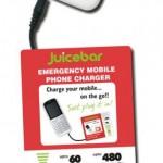 JuiceBar, il caricabatteria d'emergenza per telefonini