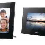 Nuove cornici digitali Sony, design e tecnologia