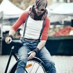 L'invisibile caschetto per ciclisti